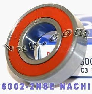 NTN 6002LLBC3 BEARING RUBBER SEALED 6002 LLB C3 6002-2RS-C3 15x32x9 mm
