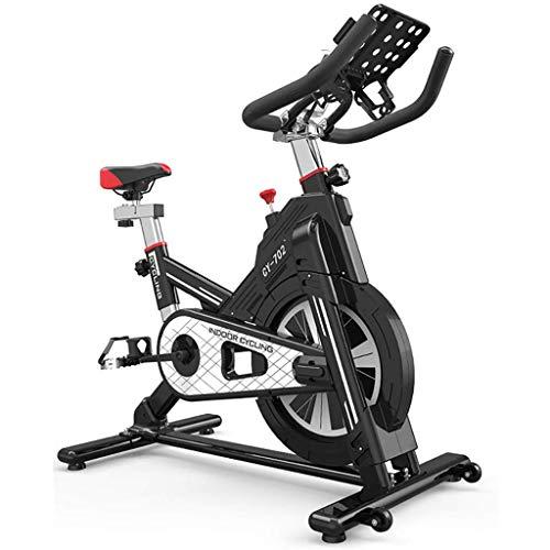 YHSFC Indoor-Cycling, Spinning Bike, Ultra-Leise Für Den Heimgebrauch, All-Inclusive-Spiele-App, Heimtrainer, Sportmotorrad,Schwarz