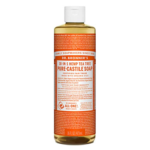 Dr Bronners Liquid Soap Tea Tree