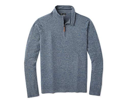 Men Shetland Wool Windproof Zip Sweaters