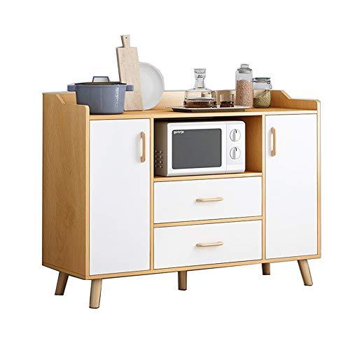 KCCCC Sideboard-Kabinett Buffet-Sideboard-Küchenlager-Kabinett-Konsolen-Tischschrank mit Schublade Esszimmer (Color :...