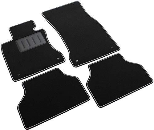 ilTappetoAuto by Fabbri3 - SPRINT00306 - Compatible avec Tapis de Voiture sur Mesure en Moquette Noire pour BMW Série 5