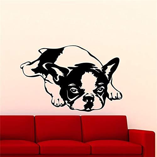 Yaonuli muursticker met schattige dieren, voor honden en huisdieren, decoratie voor het huis, tienerkamer, Art Deco