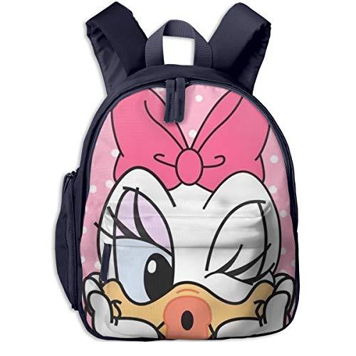 Don Duck - Zaino per la scuola, unisex, in tela, colore: rosa Marina Militare taglia unica