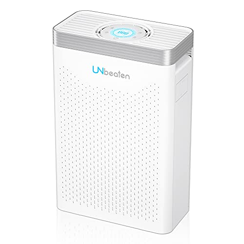 Air Purifier, UNbeaten Air Purifiers for Home Bedroom with H13 True HEPA Filter, Air Purifier Hepa for 68㎡ Large Room with 12H Timer and Auto Mode, Remove 99.97% Pollen, Smoke, Dust, Pets Hair