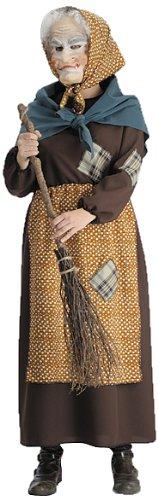 Costume travestimento da BEFANA con fazzoletto misura unica