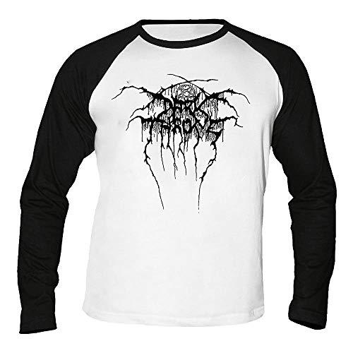 Darkthrone - Logo - Baseball - Langarm - Shirt/Longsleeve Größe XL