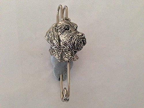 D24 alambre pelo cabeza kilt pin bufanda o broche pin peltre emblema 3 pulgadas 3 pulgadas hecho a mano en sheffield