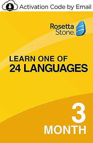 Rosetta Stone: Learn one of 24 Languages with 3-month Auto-Renewing Subscription on iOS, Android, PC and Mac [Online Code]