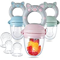 Eco inspired Fresh Food Feeder & Fruit Pacifier for Baby Teething