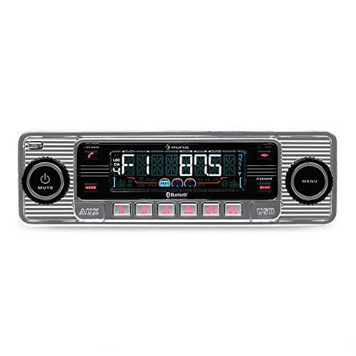 AUNA RMD-Sender-Two - Car radio, Car hi-fi set, Bluetooth interface, USB...