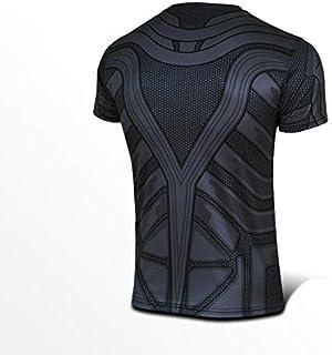 Mens T Shirt Batman Quick Dry Sports T-Shirt L