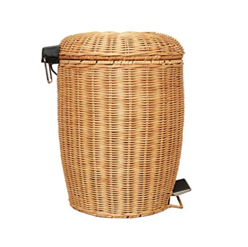 LQ&XL Cubo de Basura pequeño/Papelera de Cocina, Bote de Basura Papelera para Basura en el hogar u Oficina, Papelera de Oficina/A / 5L