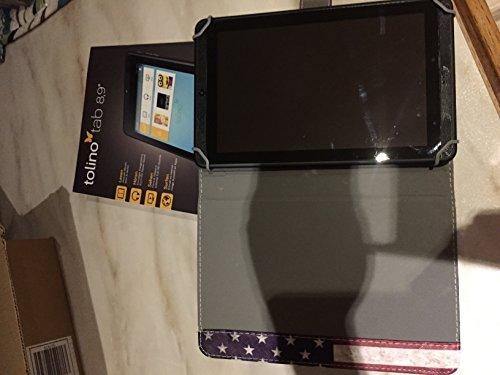 Tolino Tab 8,9 zoll - 16 GB, Full-HD 1920 × 1200 Pixel, Quad-Core Rockchip 1.6 GHz, 2 GB RAM DDR3, Android 4.2.2