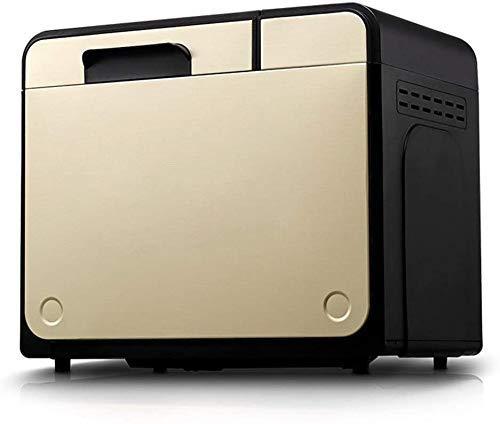 HYY YY Fastbake hogar automático Máquina de Hacer Pan, 25 Funciones programadas, Mantener la programación de Abrigo, 2 Libras de Gran Capacidad, 100W (Tamaño: 368mm235mm320mm)