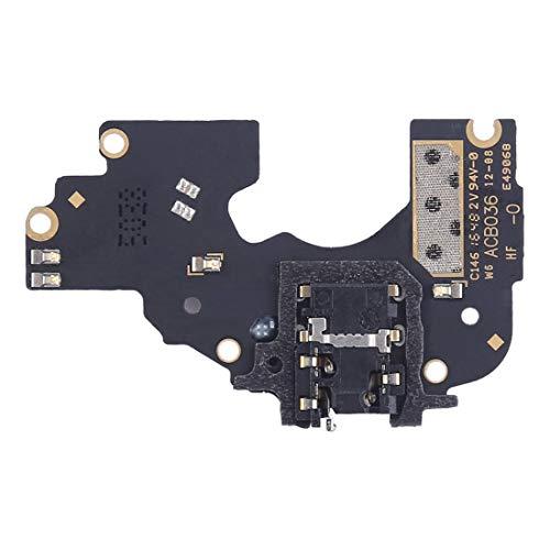 ZHANGJIALI Teléfonos Móviles Piezas de Repuesto Módulo de reemplazo de Reparación Auriculares Jack Junta con micrófono for OPPO R9s Plus