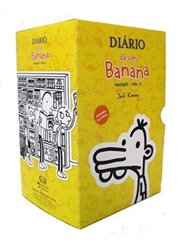 Caixa Diário de Um Banana - Volume 2