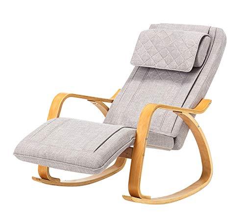 YUYTIN Massagesessel für Heim und Büro - Stressless Sessel mit Hockern - Shiatsu Massage - Massagestuhl mit Heizfunktion - Relax-Sessel - Massage zurück