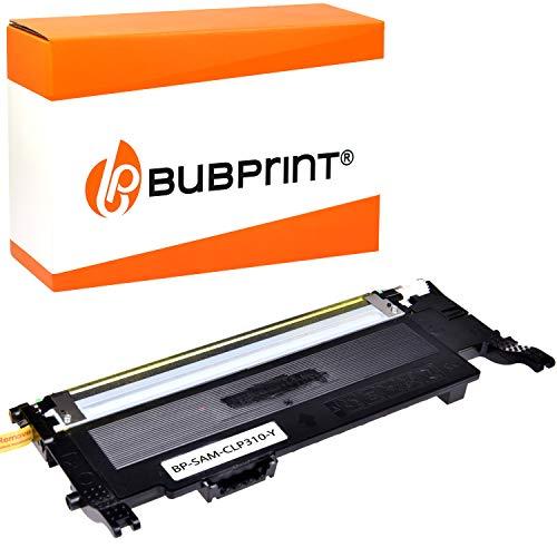 Bubprint Toner kompatibel für Samsung CLT-Y4092S/ELS für CLP-310 CLP-310N CLP-315 CLP-315N CLP-315W CLX-3170FN CLX-3170N CLX-3175 CLX-3175FN CLX-3175FW CLX-3175N Gelb