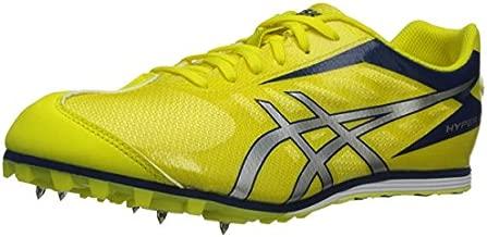 ASICS Men's Hyper LD 5 Shoe,Flash Yellow/Silver/Navy,9.5 M US