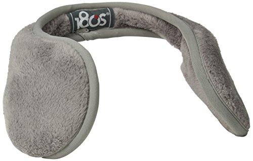 180s Women's Lush Soft Fleece Behind The Head Ear Warmers, Frost Grey, One Size