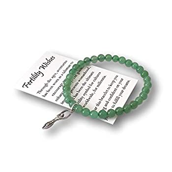 Fertility Wishes Bracelet – IVF Infertility Gift for Women – Includes Message Card Box and Bow