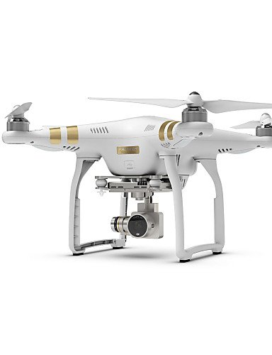 TT&FF DJI-phantom-3-professional-Vision-4K-12-Megapixel-HD-Kamera-Drohne , white-eu adapter