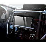 LFOTPP Car Navigation Screen Protector for 2018 Crosstrek Impreza Starlink 6.5 Inch, Tempered Glass 9H Hardness Car Infotainment Stereo Display Center Touchscreen Protective Film