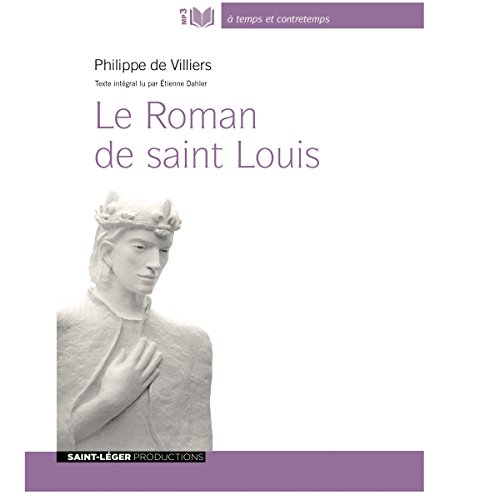 Le Roman de saint Louis audiobook cover art