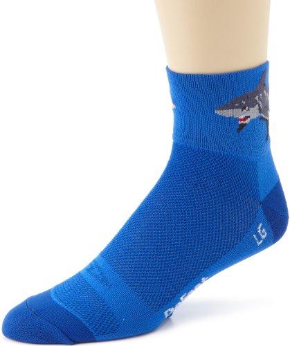 Defeet Herren Aerator Attack Socken, Damen Herren, blau, X-Large