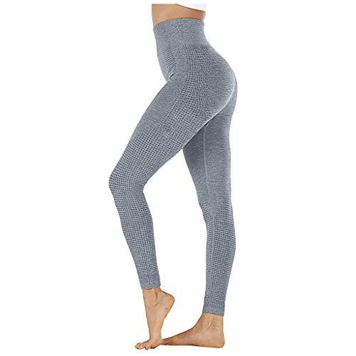 haoricu Women Seamless Leggings High Waist Yoga Pants Tummy Control Butt Lift Gym Workout Leggings for Women Navy