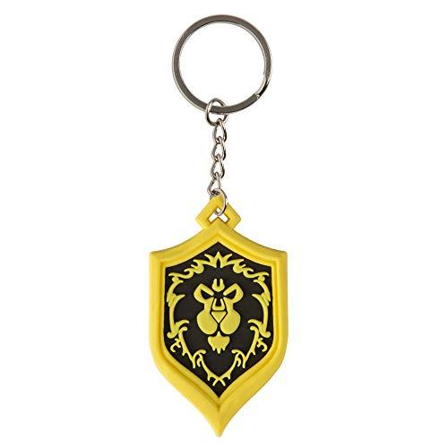 Jinx JX7854 - World of Warcraft Alliance Pride Schlüsselanhänger, Mehrfarbig