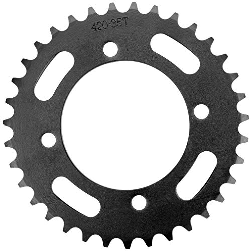 HIAORS 420 Chain Rear Drive Sprocket 35 Tooth 76mm for Chinese 50 70 90 110 125 140cc 150 160 170 cc Apollo rfz CRF50 XR50 SDG IMR SSR YCF Kayo Thumpstar Taotao Coolster Pit Dirt Motor Bike Motorcycle