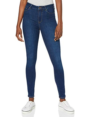 Tommy Hilfiger Damen Th Flex Harlem U Skinny Hw Baka Hose, Blau (Baka), W26/L32