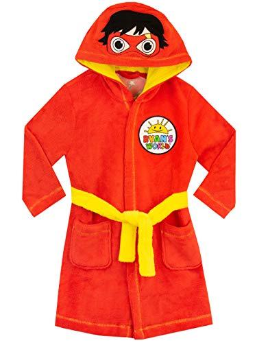 Ryans World Bata para Niños Rojo 3-4 años