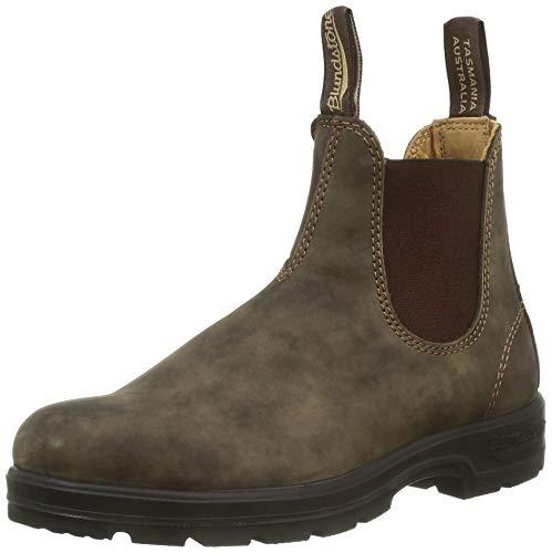 Blundstone Classic Comfort 585, Unisex-Erwachsene Chelsea Boots, Braun (Rustic Brown Rustic Brown), 41 EU (7 UK)