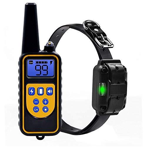 EICOCO Anti-Barking-Gerät,Haustierhalsband Zusätzliches Trainingshalsband