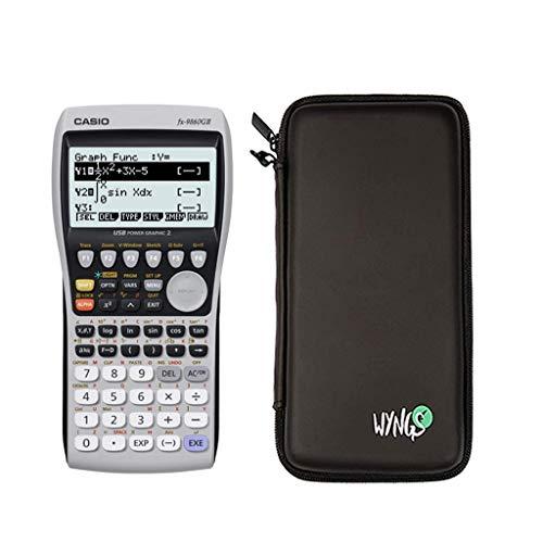 Calcolatrice Casio FX 9860 GII - Bundle Set + Erweiterte Garantie + Schutztasche