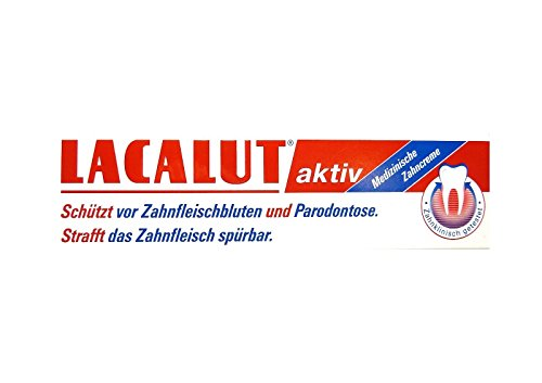 LACALUT aktiv Zahncreme 100 ml PZN 5484132 Parodontose Zahnfleischbluten