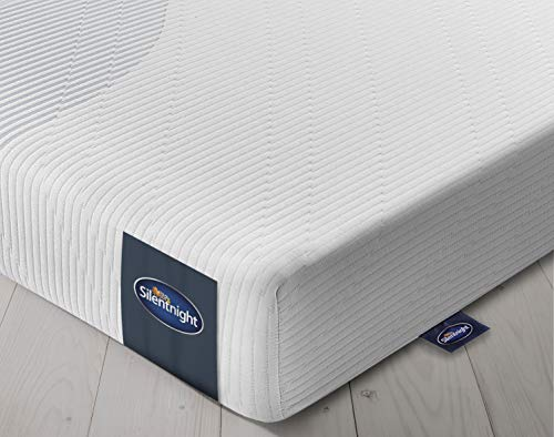 Silentnight 3 Zone Memory Foam Rolled Mattress, Made in the UK, 90 x 200 cm