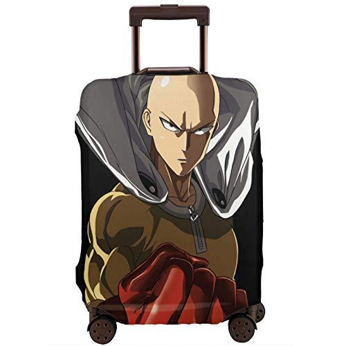 Anime ONE Punch-Man - Funda protectora para maleta de viaje (18/24/28/32 pulgadas), elástica, a prueba de polvo