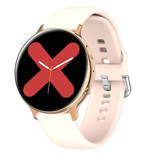 YDK Adecuado para Android iOS Fitness S2 Reloj De Ritmo Cardíaco Sphygmomanometer IP68 Impermeable Mujeres Deportes Smart Watch,A