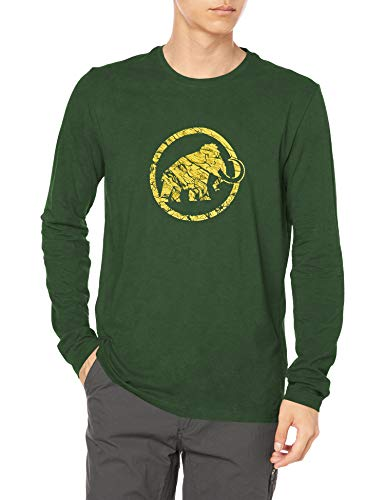 Mammut Logo T-Shirt à Manches Longue Homme Woods FR: S (Taille Fabricant: S)