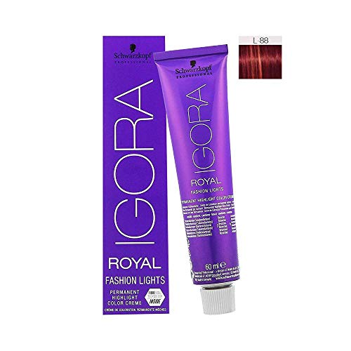 Schwarzkopf Professional Igora Royal Fashion Lights L-88 rot extra, 1er Pack (1 x 60 ml)