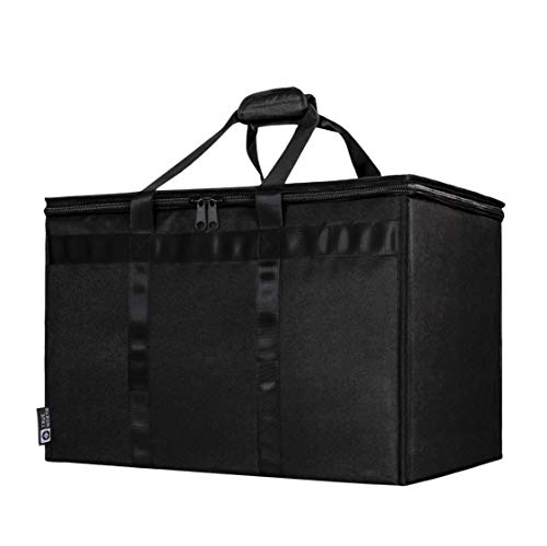 TRUE NORTH XXL Commercial Insulated Food Delivery Bag - Uber Eats and DoorDash Bags for Hot and Cold Food, Insulated Grocery Tote, Insulated Delivery Bag, Delivery Bags for Hot Food, Food Warmer Bag