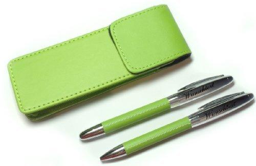 sehr schönes Hochwertiges 2-tlg. Schreibset Kugelschreiber, Lance Rollerball mit Gravur nach Wunsch.