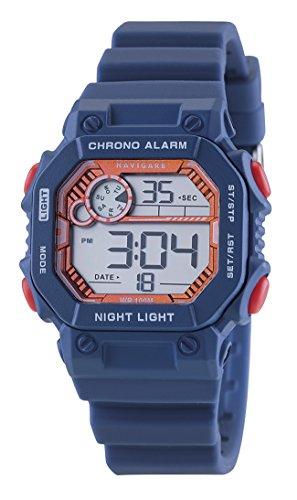 Digitale Armbanduhr für Jungen, Geschenk zur Kommunion oder Konfirmation, wasserdicht