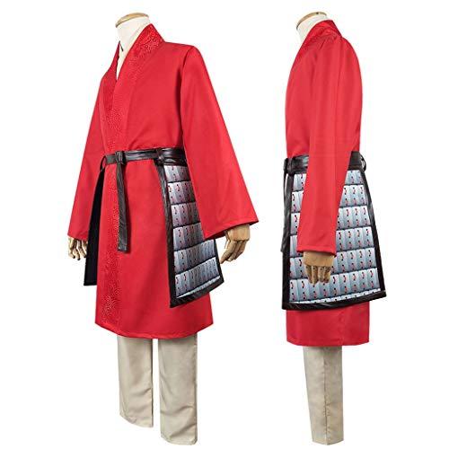 Princesa del Traje de Mulan for Mujer Vestido de Hua Mulan Equipo ...
