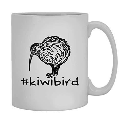 Kiwi Bird Hashtag Becher Weiß Dark Roast Coffee Mug 11 oz