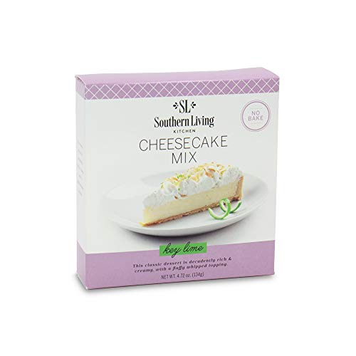 Gourmet Cheesecake Mix – No Bake Cheesecake Cake Mix – Key Lime Cheesecake by Southern Living – Rich, Creamy, Moist and Fluffy Whipped Topping
